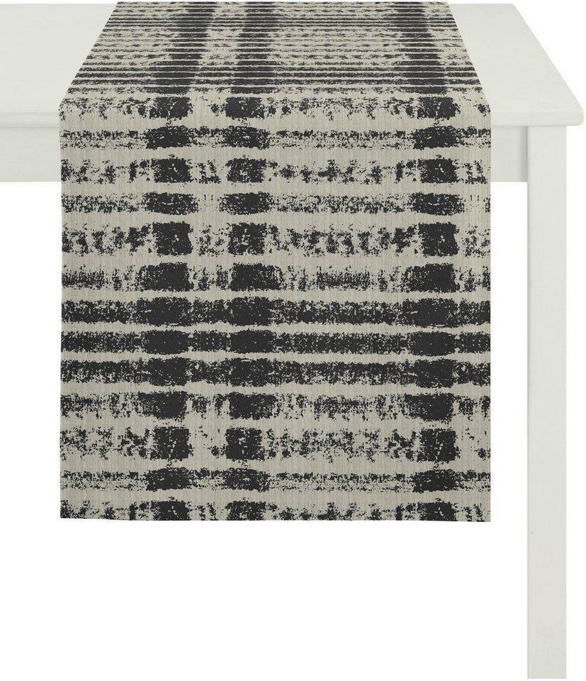 Tischläufer, Apelt, »7906 Loft Druck« in anthrazit