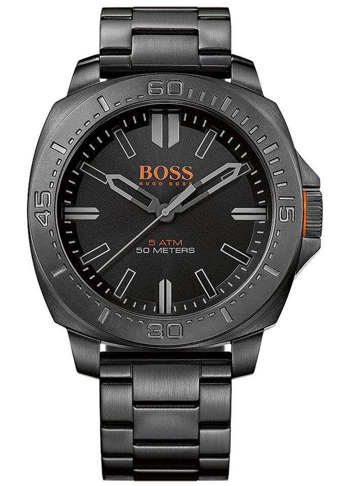 "Boss Orange, Armbanduhr, ""SAO PAULO, 1513241"" in schwarz"