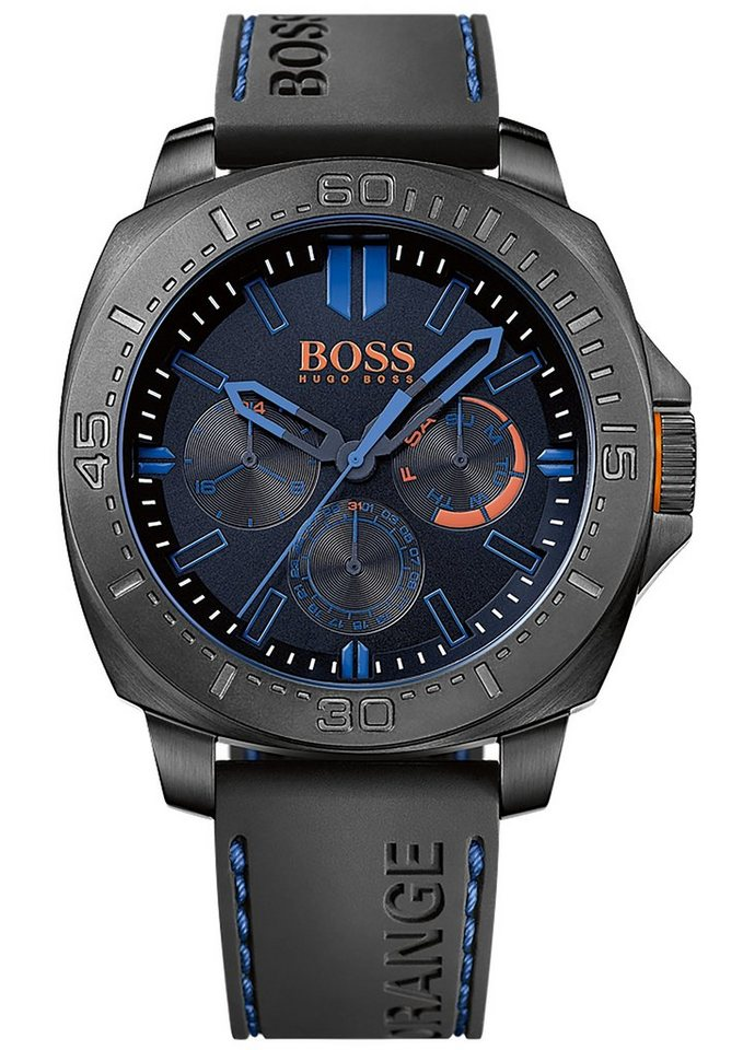 "Boss Orange, Multifunktionsuhr, ""SAO PAULO, 1513242"" in schwarz-blau"