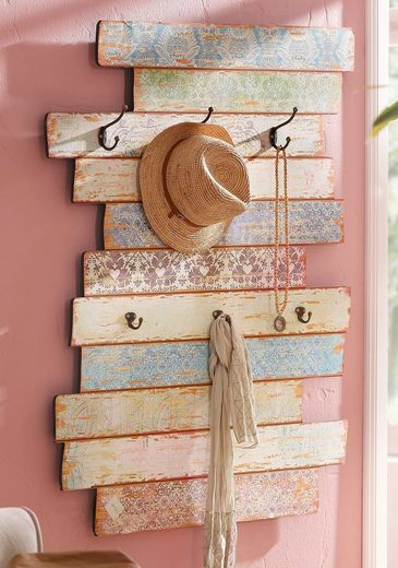 Garderobenpaneel »Pastell«