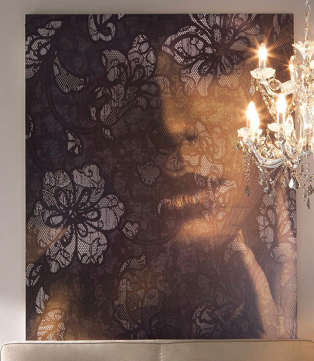 Komar Vliestapete »Lace«, 184/248 cm