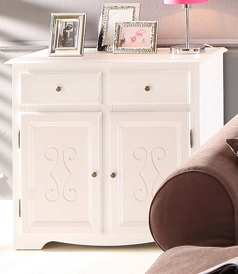 home affaire kommode castle breite 90 cm kaufen otto. Black Bedroom Furniture Sets. Home Design Ideas