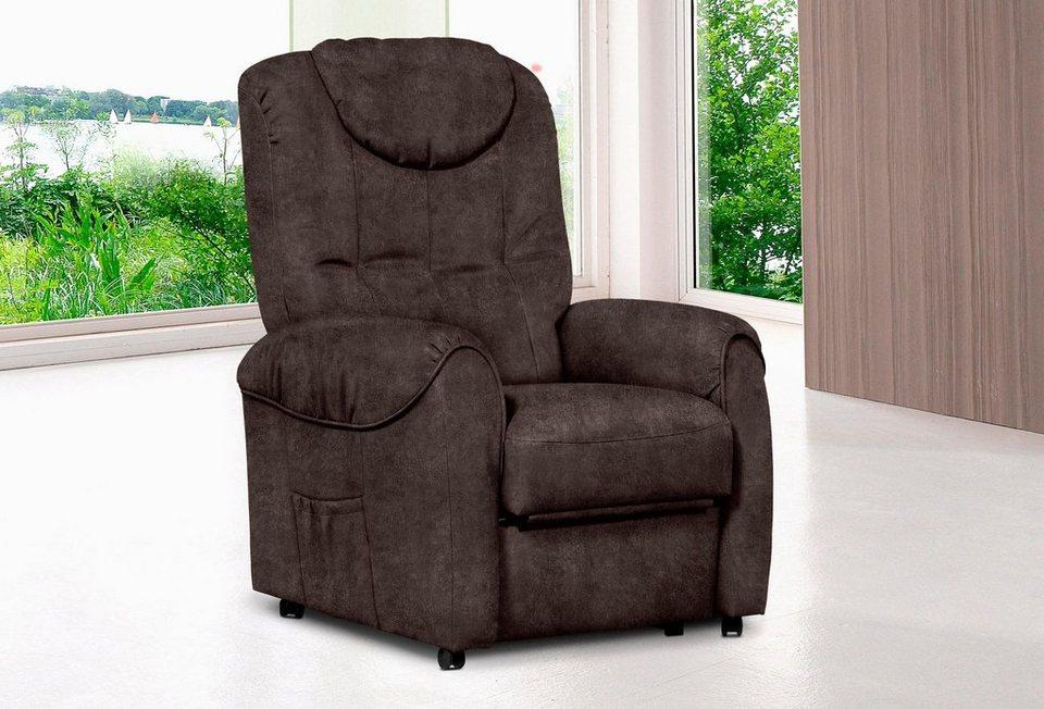tv sessel wahlweise mit motor und aufstehhilfe otto. Black Bedroom Furniture Sets. Home Design Ideas
