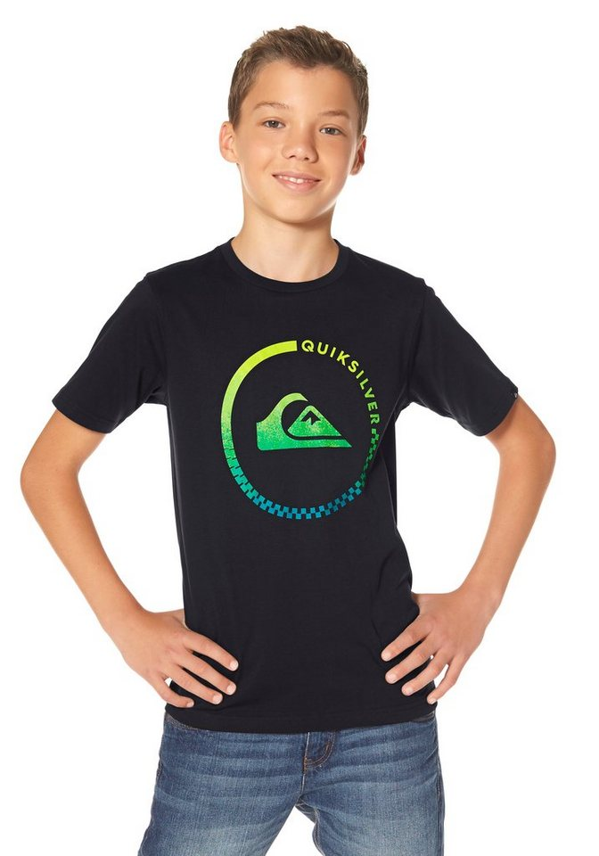 Quiksilver T-Shirt in Schwarz