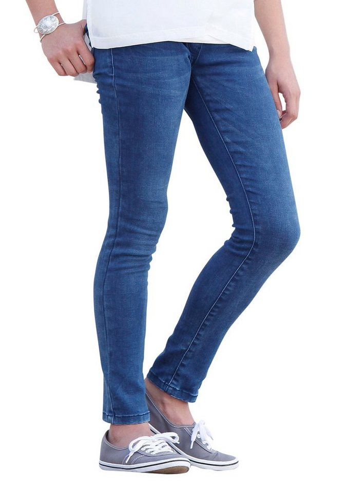 s.Oliver RED LABEL Junior Treggings BIG, für Mädchen in blue denim