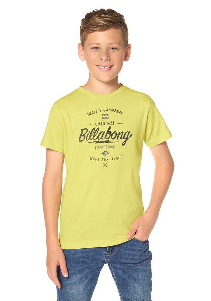 Billabong T-Shirt in gelb