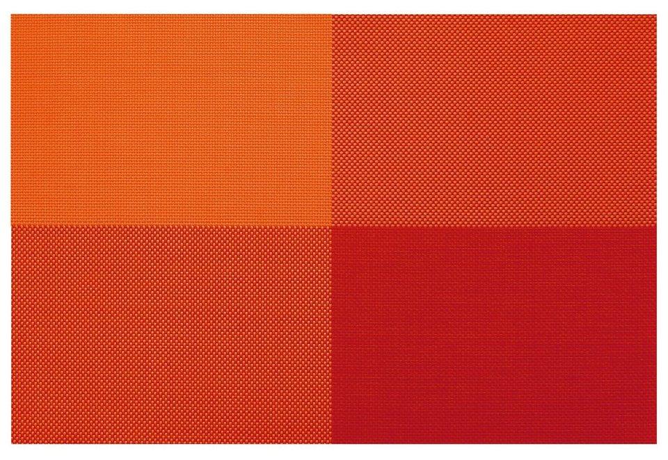 contento Tischsets, »Zarah«, 45x30 cm (4 Stück) in orange