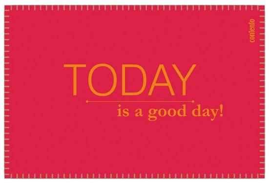 Contento Platzset »Filina - Today is a good day!« (Set 6-tlg)