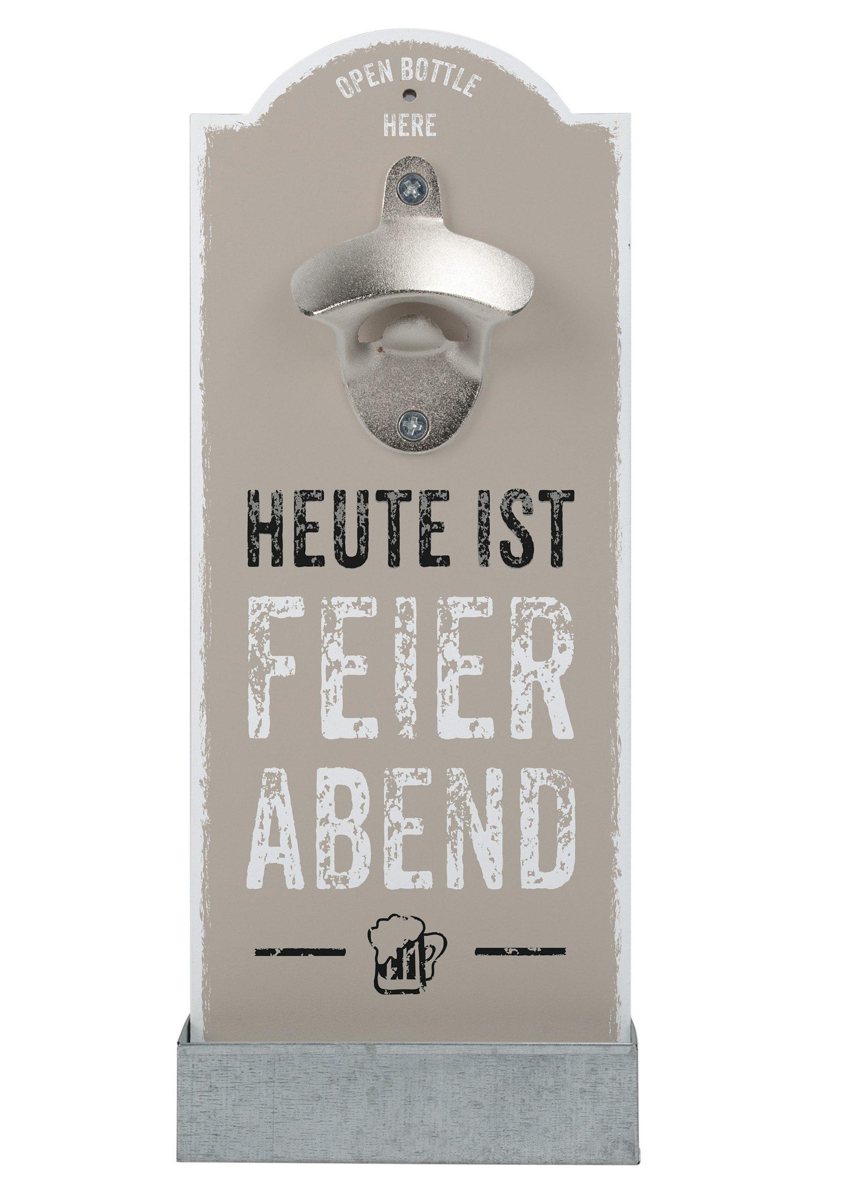 contento Wand-Flaschenöffner, »Feierabend«