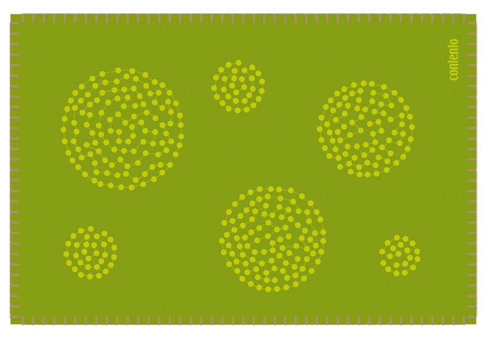 contento Filz-Tischset, »Filina« (6 Stück) in Grün