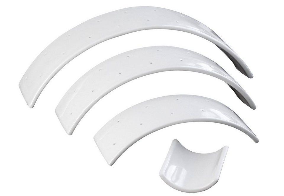 contento Arc de Table, Porzellan (4tlg.) in weiß