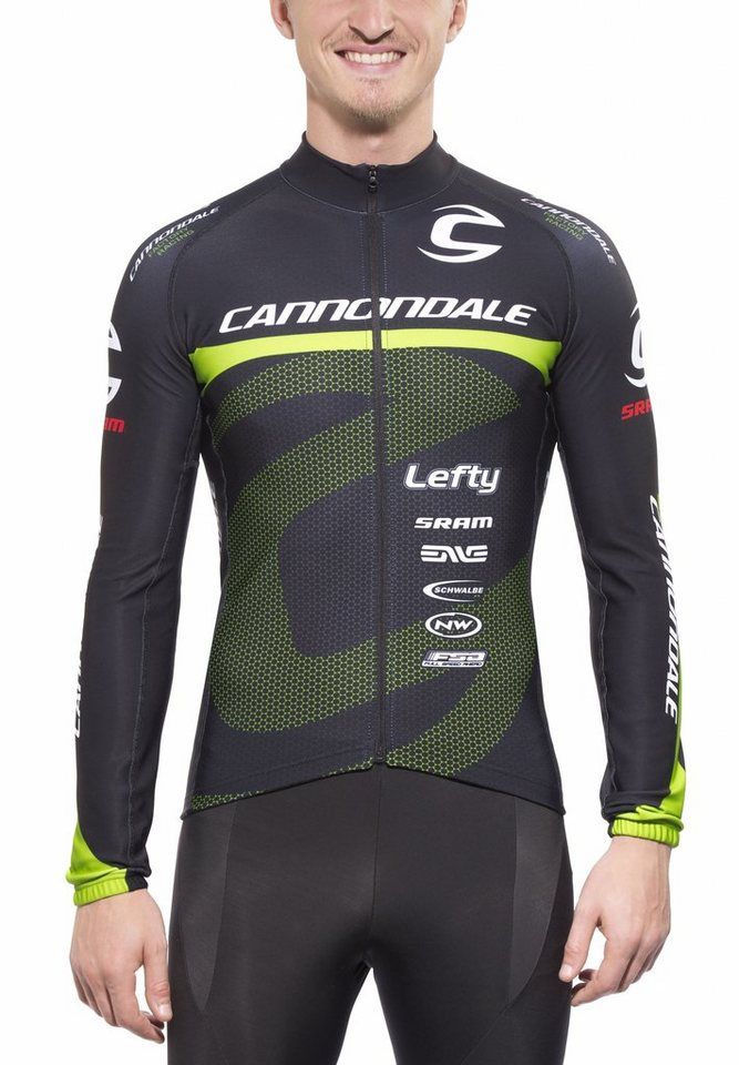 Cannondale Radtrikot »CFR LS Jersey Men factory racing« in schwarz