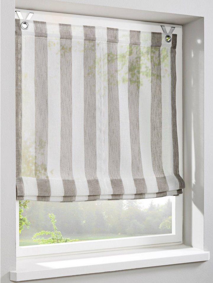 heine home raffrollo online kaufen otto. Black Bedroom Furniture Sets. Home Design Ideas