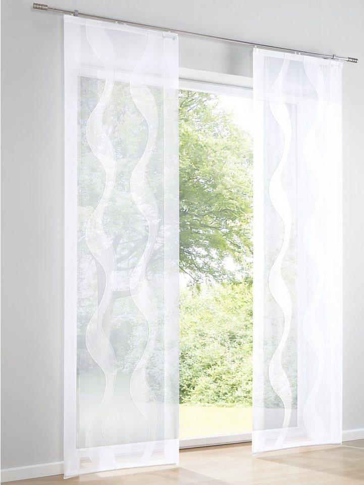 heine home Schiebevorhang in weiß