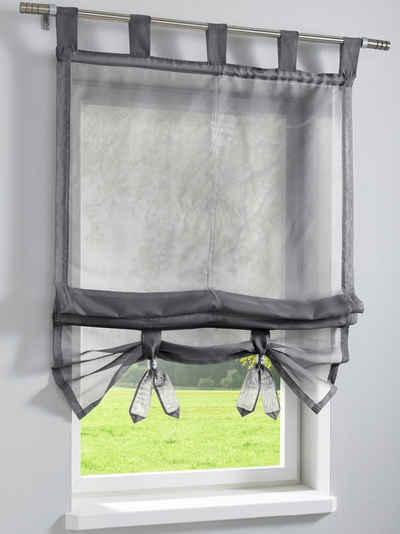 Günstige Gardinen & Vorhänge Kaufen » Sale   Otto Raffrollo Wohnzimmer Modern
