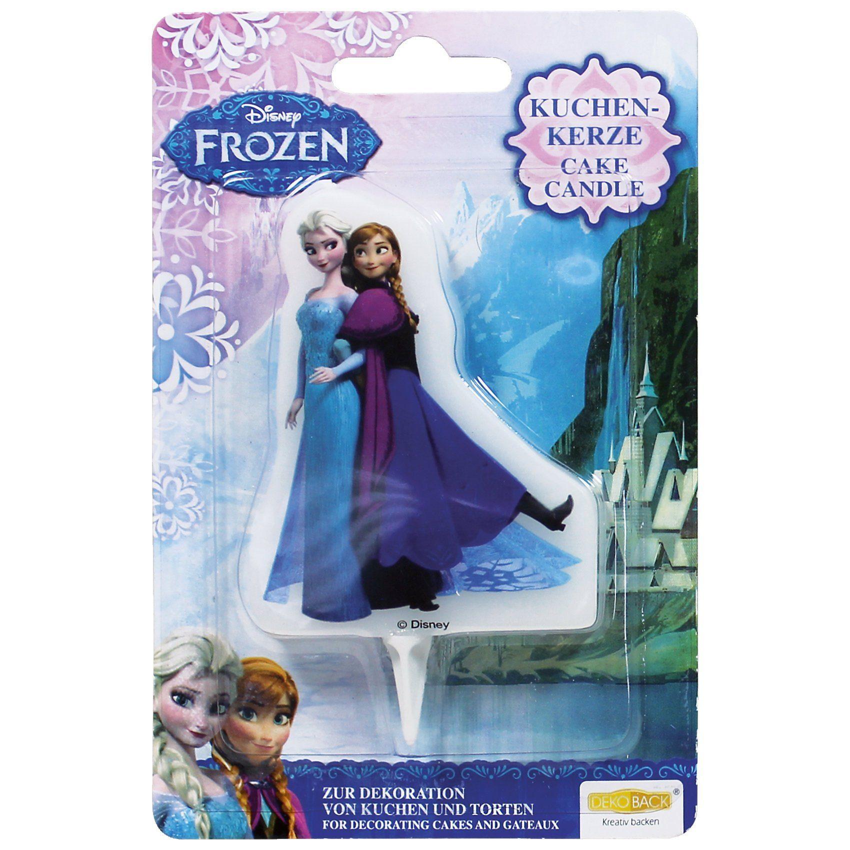 Dekoback Kuchenkerze Frozen Elsa & Anna