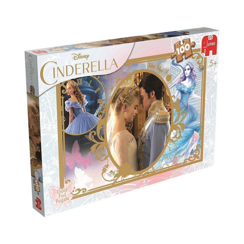 Jumbo Puzzle 100 Teile - Disney Cinderella
