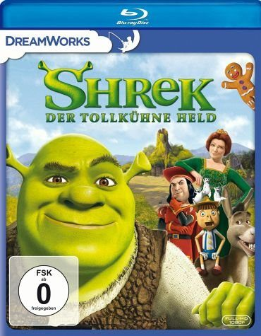 Blu-ray »Shrek - Der tollkühne Held«