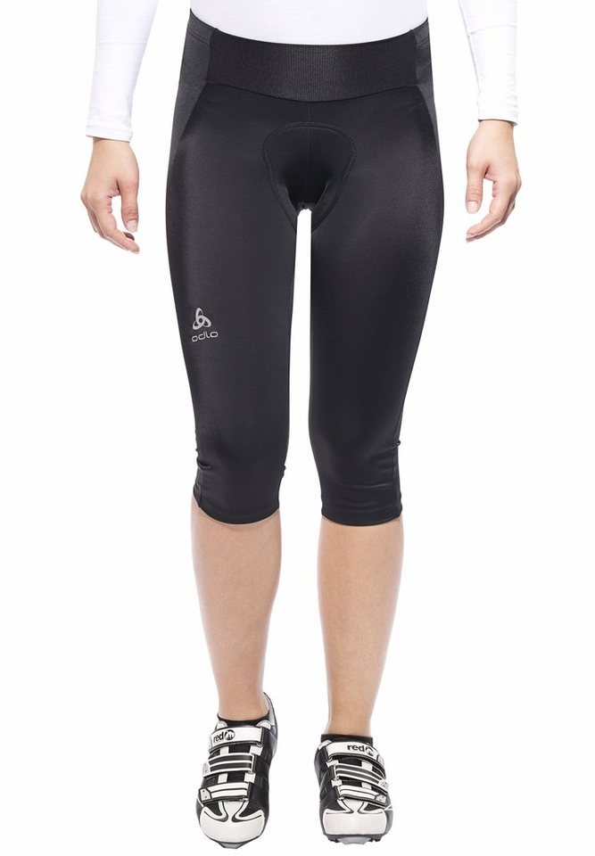 Odlo Radhose »JULIER Tights 3/4 Women« in schwarz