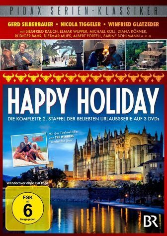 DVD »Happy Holiday - Die komplette 2. Staffel (3...«