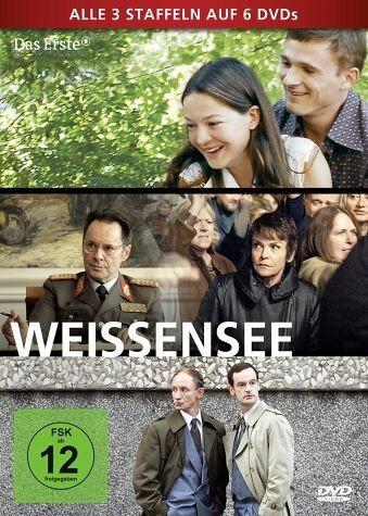 DVD »Weissensee - Alle drei Staffeln auf 6 DVDs (6...«