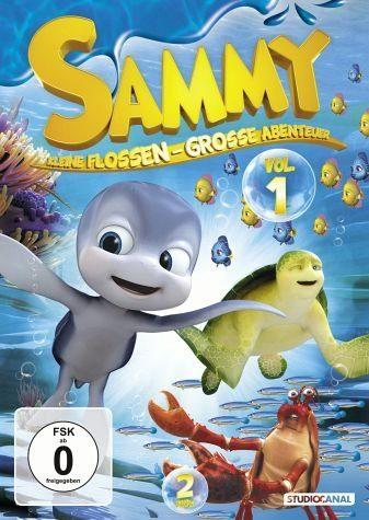 DVD »Sammy: Kleine Flossen - Große Abenteuer, Vol. 1«