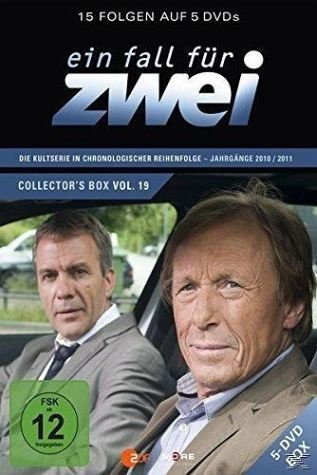DVD »Ein Fall für Zwei - Collector's Box 19 (5 Discs)«
