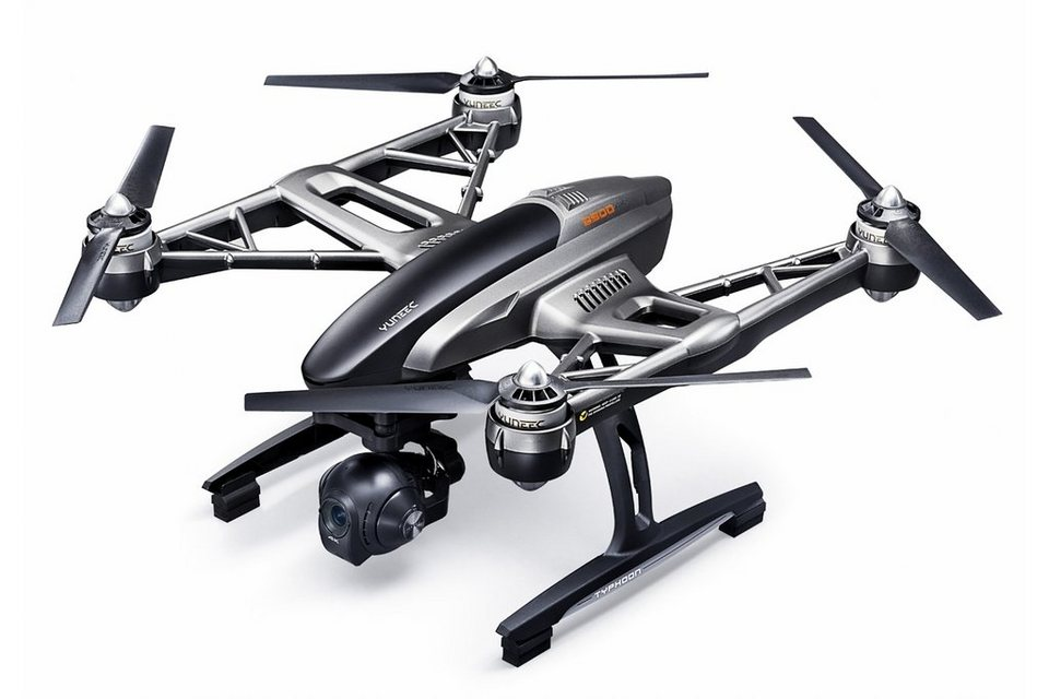 Yuneec Multicopter, Quadcopter »Q500 4K Typhoon Set inkl. ST-10« in schwarz