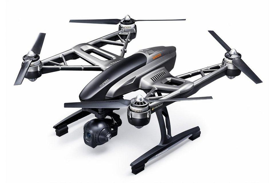 Yuneec Multicopter, Quadcopter »Q500 TYPHOON 4K - Set inkl. Transportkoffer« in schwarz