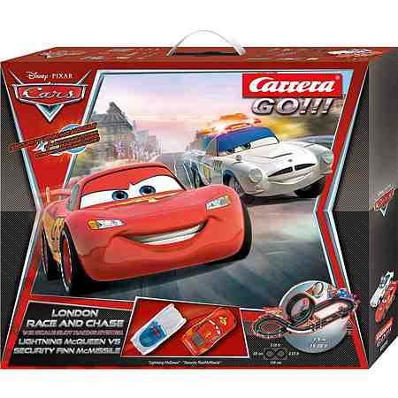 Carrera GO!!! 62277 Disney Cars London Race and Chase