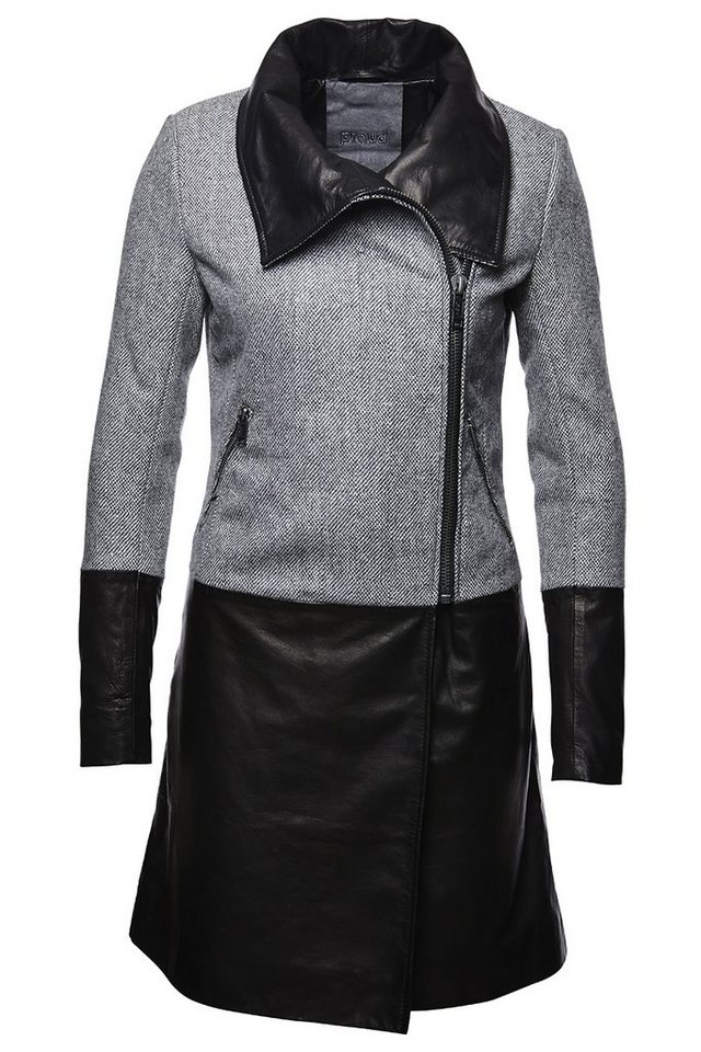 proud Kurzmantel »Coat Leda« in schwarz