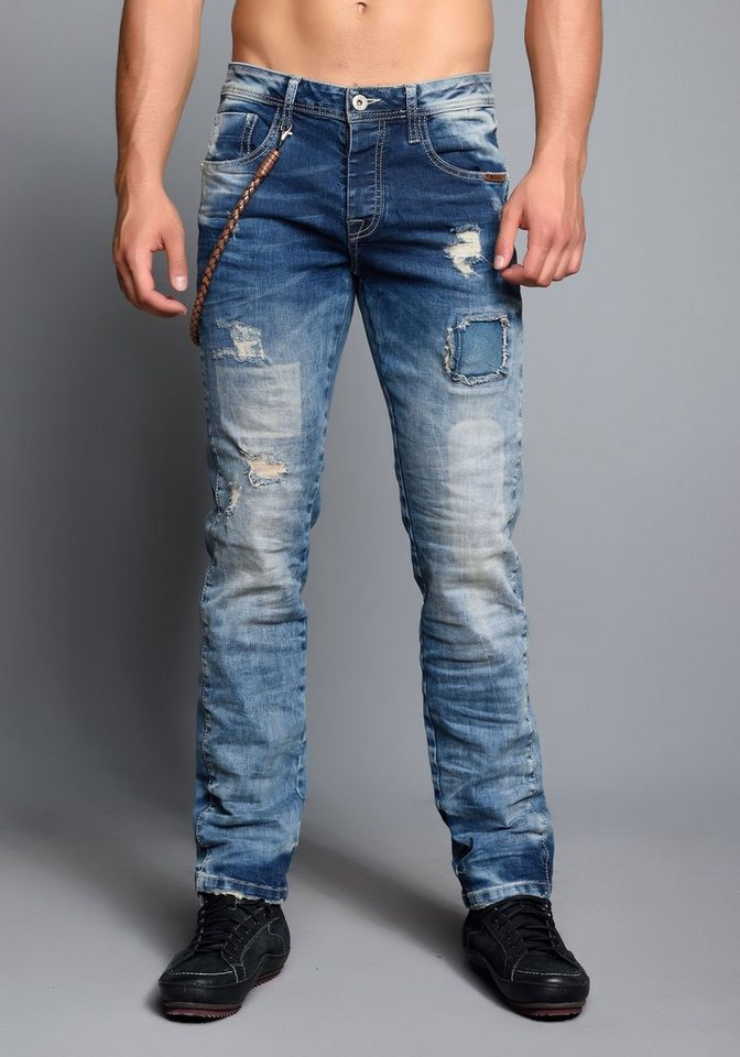 Cipo & Baxx Stylische Jeans in Blue