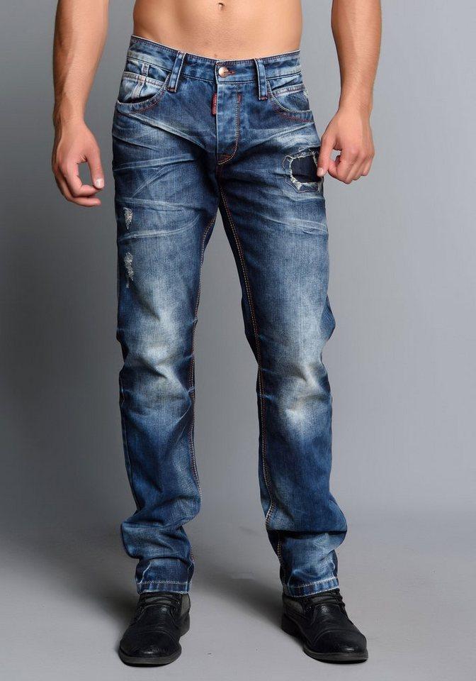 Cipo & Baxx Stylische Jeans in Blue