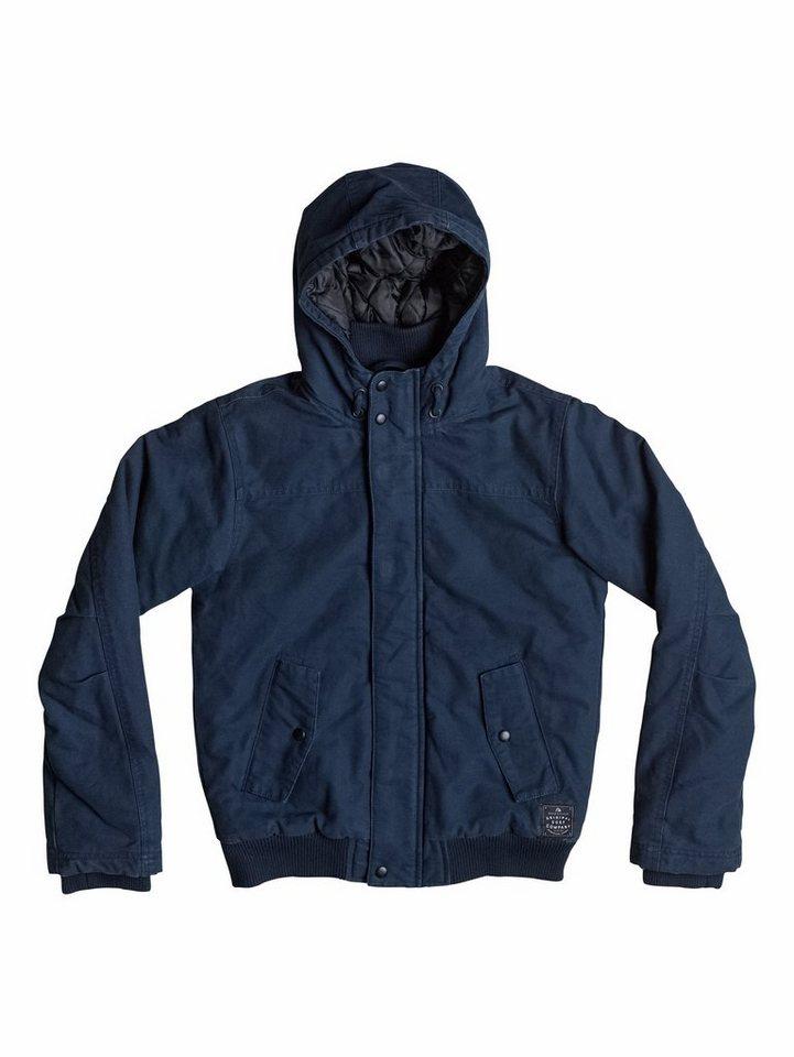 Quiksilver Baumwoll-Jacke »Brooks« in Navy blazer