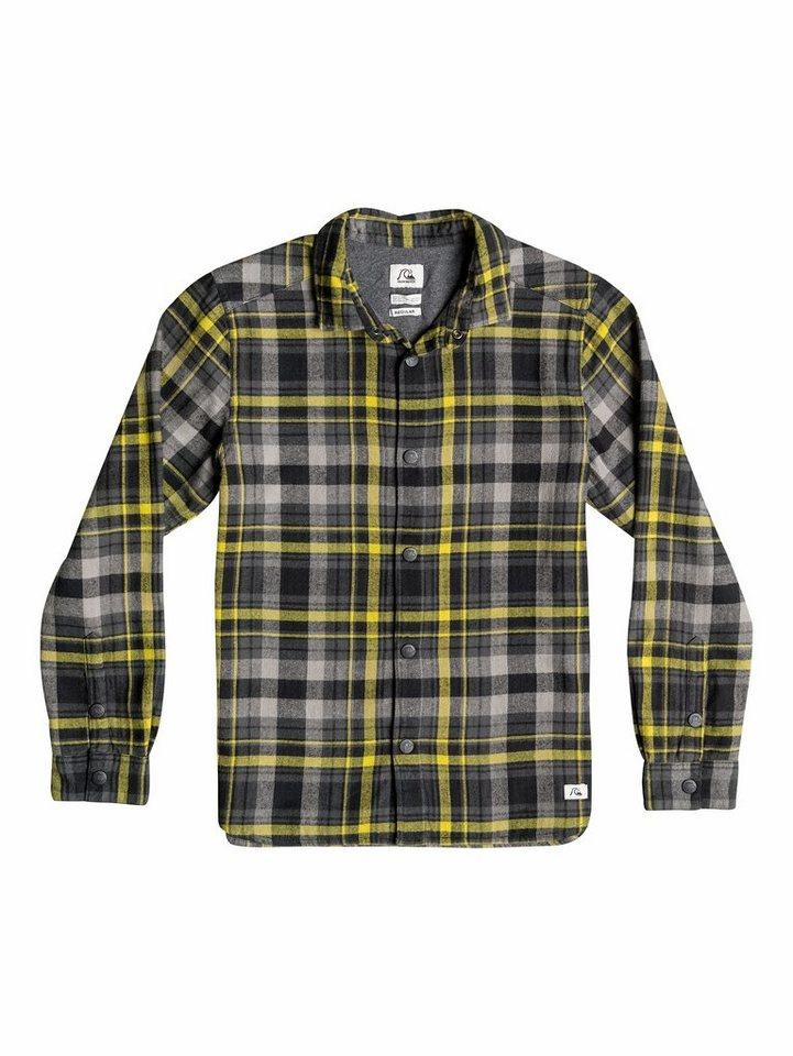 Quiksilver Langarm-Hemd »Sumner« in Black check