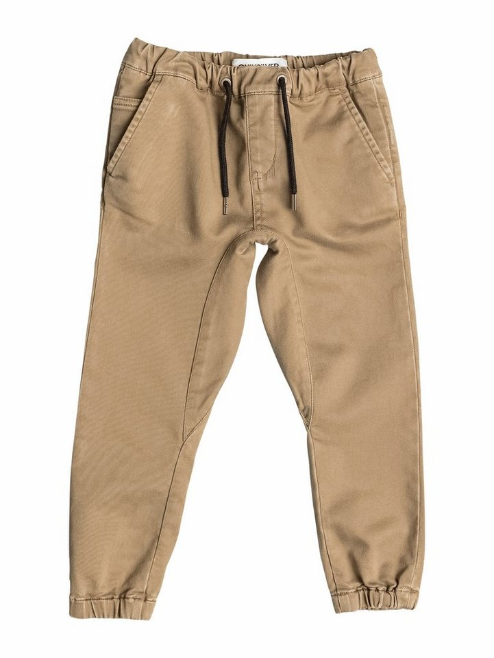 Quiksilver Slim-Fit Hose »Fonic« in Dull gold