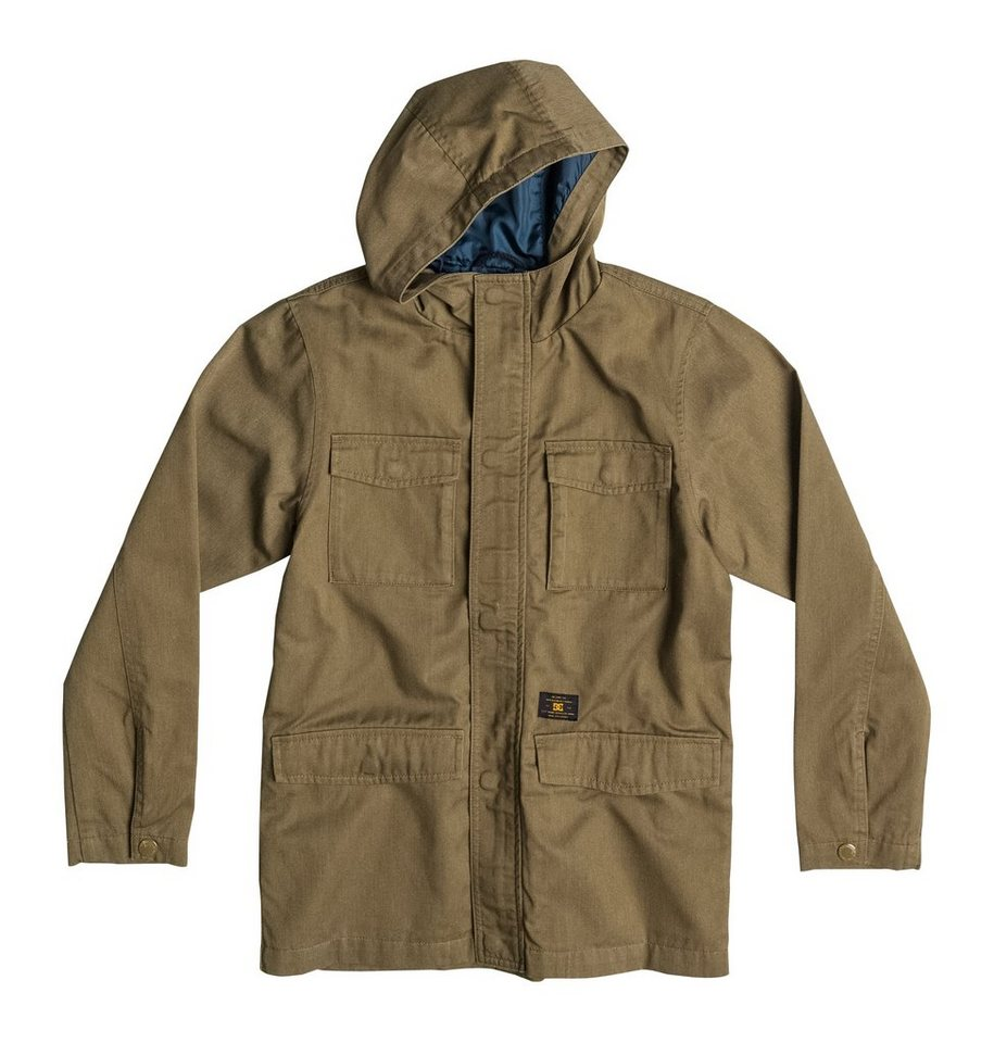 DC Shoes M-65 Jacke mit Kapuze »Mastadon« in Military olive