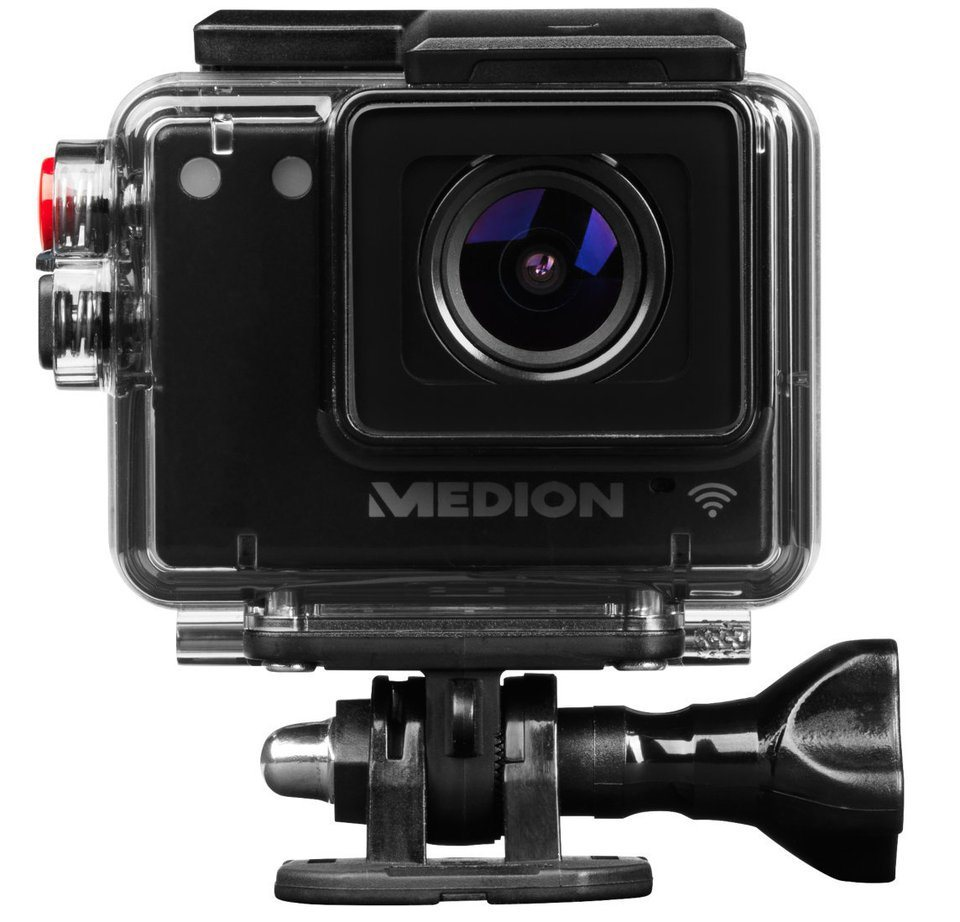 MEDION® WLAN Action Camcorder »LIFE® S47124 (MD 87156)« in schwarz