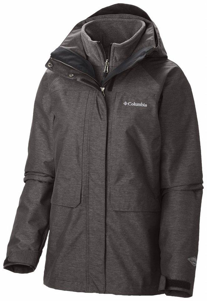 Columbia Outdoorjacke »Mystic Pines Interchange Jacket Women« in grau