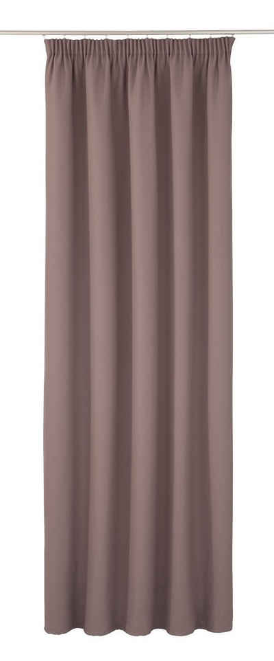 Vorhang »Accoustic«, Moondream, Kräuselband (1 Stück), HxB: 260x145, mit Energiespar- und geräuschdämpfender Effekt, Dim Out