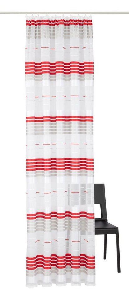 Vorhang, VHG, »Darla« (1 Stück) in rot