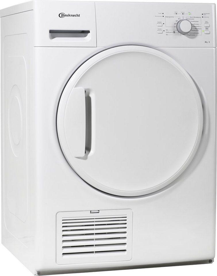 BAUKNECHT Trockner TK Super Eco 7 A+++, A+++, 7 kg in weiß