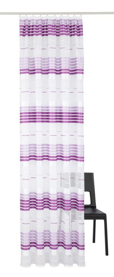 Vorhang, VHG, »Darla« (1 Stück) in lila