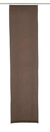 Schiebegardine »LINO«, ELBERSDRUCKE, Klettband (1 Stück), ohne Zubehör