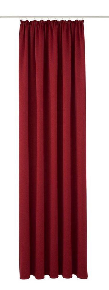 Vorhang, Vhg, »Ben« (1 Stück) in rot