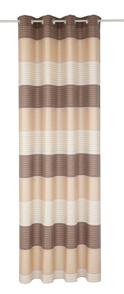 Vorhang, Deko Trends, »Easy« (1 Stück) in beige/braun/schoko