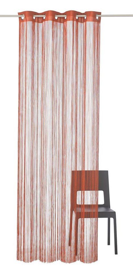 fadenvorhang leon weckbrodt gardinen sen 1 st ck. Black Bedroom Furniture Sets. Home Design Ideas