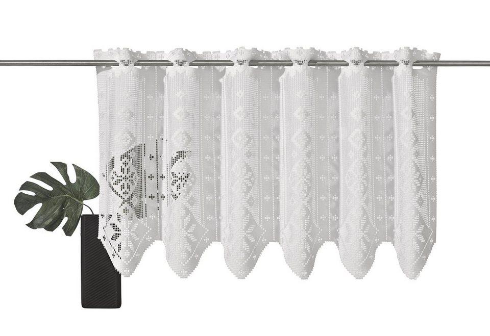 scheibengardine vhg jasmin 1 st ck nach ma otto. Black Bedroom Furniture Sets. Home Design Ideas