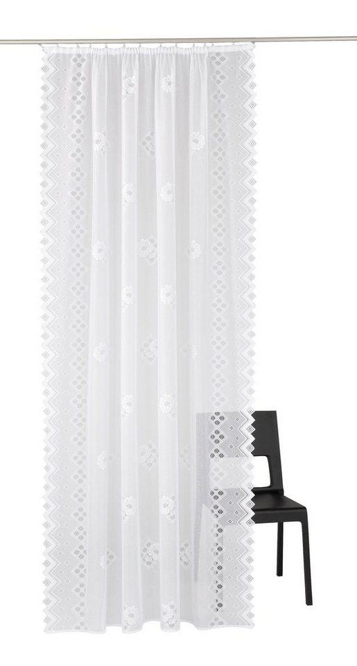 gardine maxima vhg kr uselband 2 st ck inkl raffhalter online kaufen otto. Black Bedroom Furniture Sets. Home Design Ideas