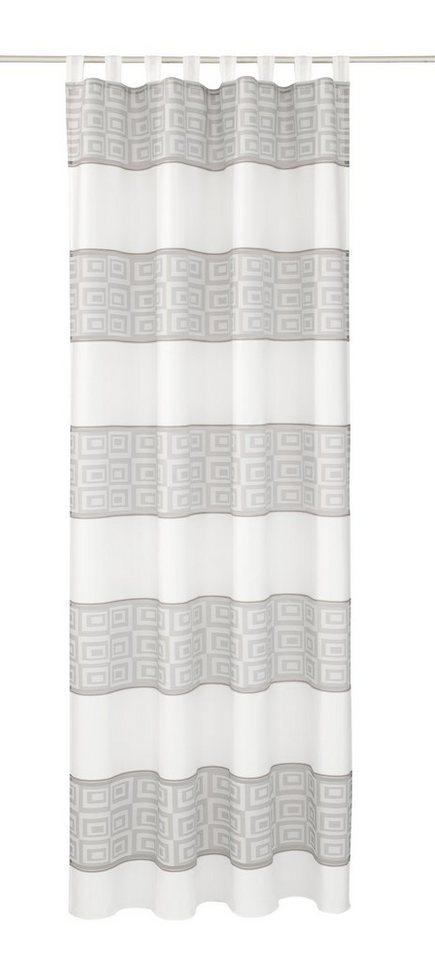Vorhang, Deko Trends, »Silvana« (1 Stück) in grau/orange